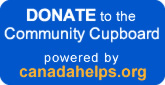 Secure donation platform at CanadaHelps (for the Community Cupboard)