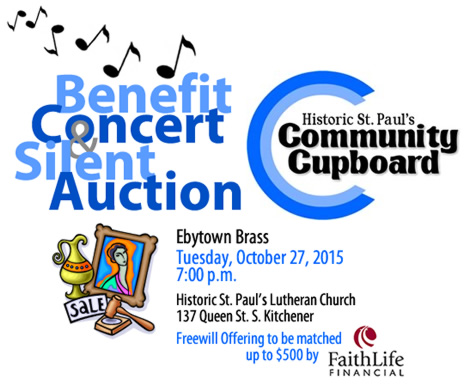Benefit Concert & Silent Auction for Community Cupboard