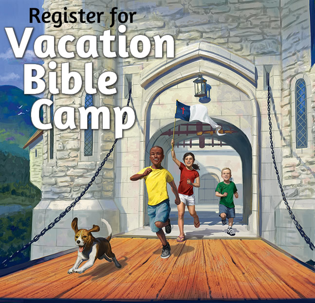 Register for Vacation Bible Camp 2017