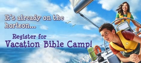 Register for Vacation Bible Camp 2014