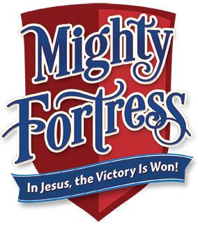 A Mighty Fortress CPH VBS 2017 logo