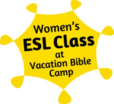 Women's ESL at Vacation Bible Camp