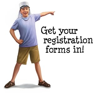 Get your registration forms in!