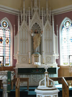 inside the sanctuary: chancel