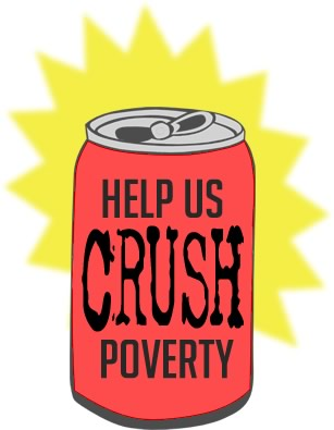 help us crush poverty