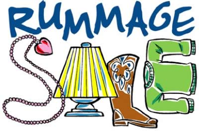 Rummage Sale (clip-art artist unknown)